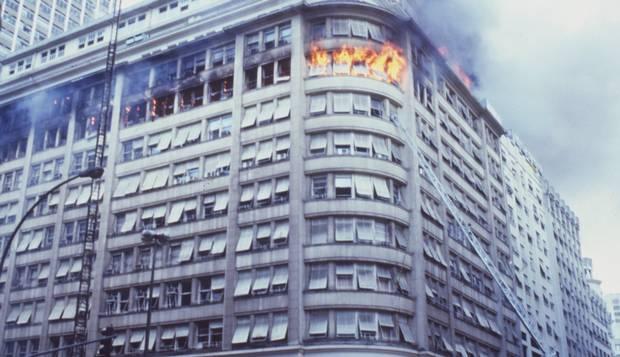 Incêndio Edifício Andorinha